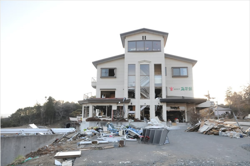 2011年4月18日 宮城県歌津町 はまなす海洋館