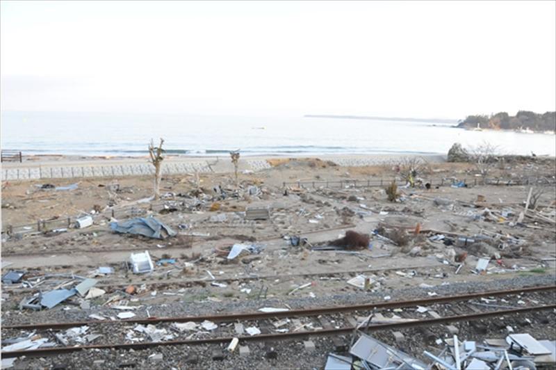 2011年4月18日 宮城県歌津町はまなす海洋館