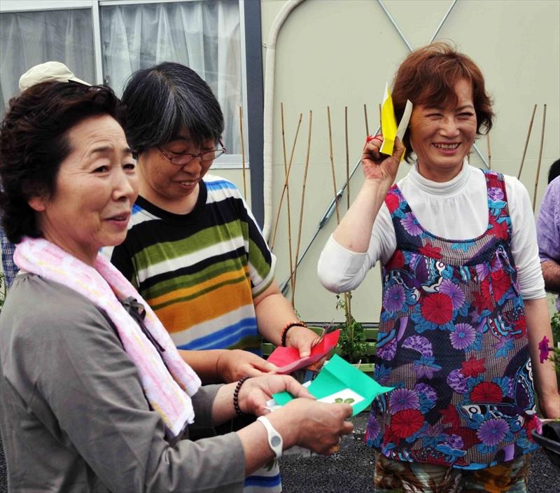 """保科順子&台原ライオンママの会 花ことば """"幸せの訪れ"""" 野原で摘みました、心をこめて"""