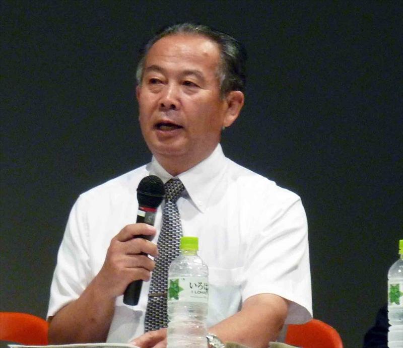 財団法人日本花普及センター事務局長兼総務部長 西岸 芳雄氏