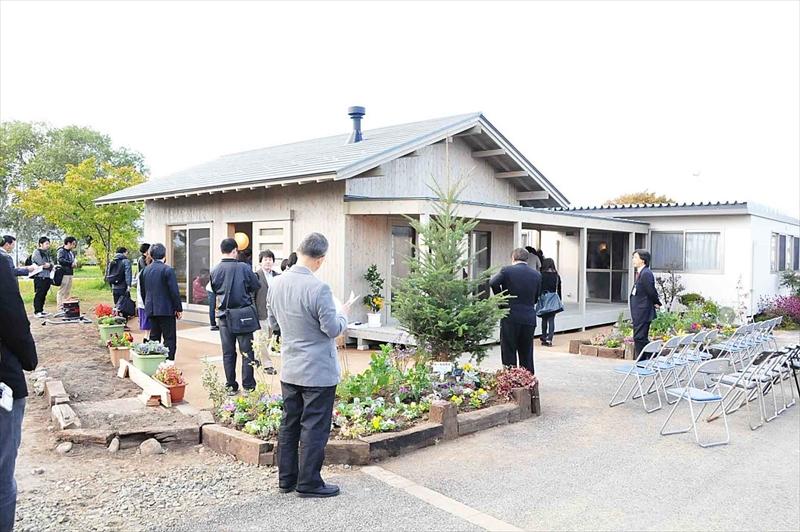 みんなの花壇 福田町南仮設住宅