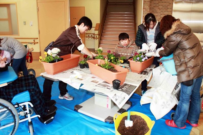 仙台花と緑の会・モミノキ作戦