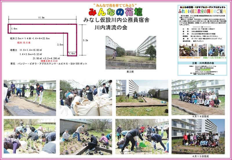 みんなの花壇■川内