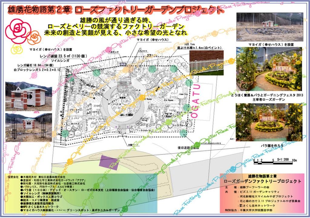 雄勝花物語第2章◆ローズファクトリーガーデンプロジェクト