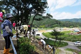 雄勝支援活動_2015_7-26