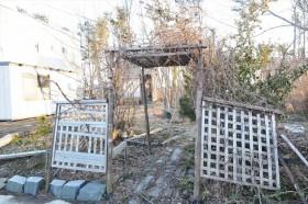 石巻渡波のガーデン跡地