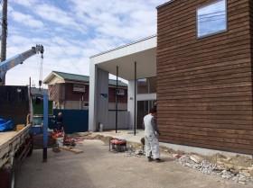 2015_3-7日 南蒲生新集会所の花壇つくり