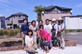 Tree of Sendaiプロジェクトの説明と記念植樹_2015_9-2