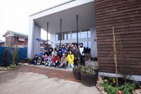 2015_3-8日南蒲生新集会所の花壇植栽