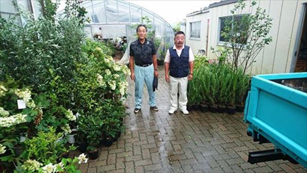 JA横浜農業協同組合植木部会からの支援