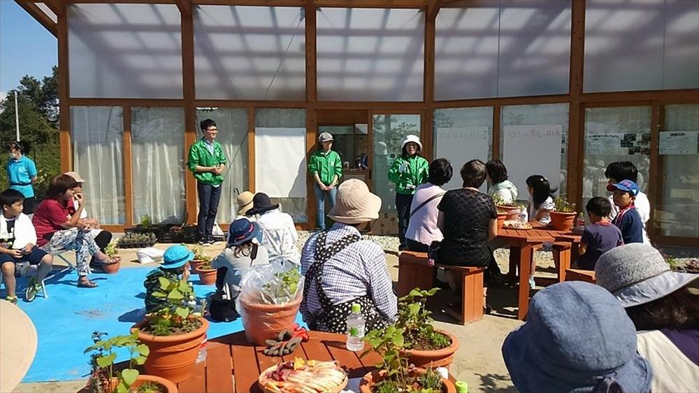 七ヶ浜地区『絆ハウス』にて支援活動