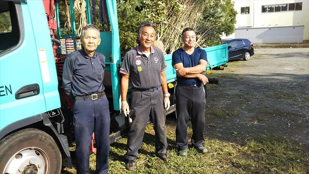横浜JA植木部会の支援活動