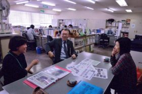 kana Miyamotoさんが被災地訪問