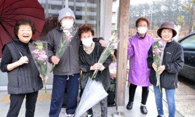 9回目の花の支援