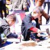 仙台市市民広場で開催中の新緑祭