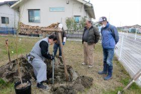 仙台市若林区の復興公営集団移転笹屋敷石場地区集会所への支援活動